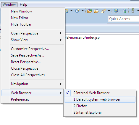 Alô Mundo Java Web - Eclipse 12