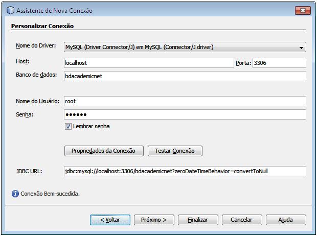 Criar DataSource MySQL no NetBeans03