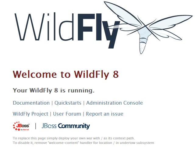 Configuração de acesso a console do wildFly
